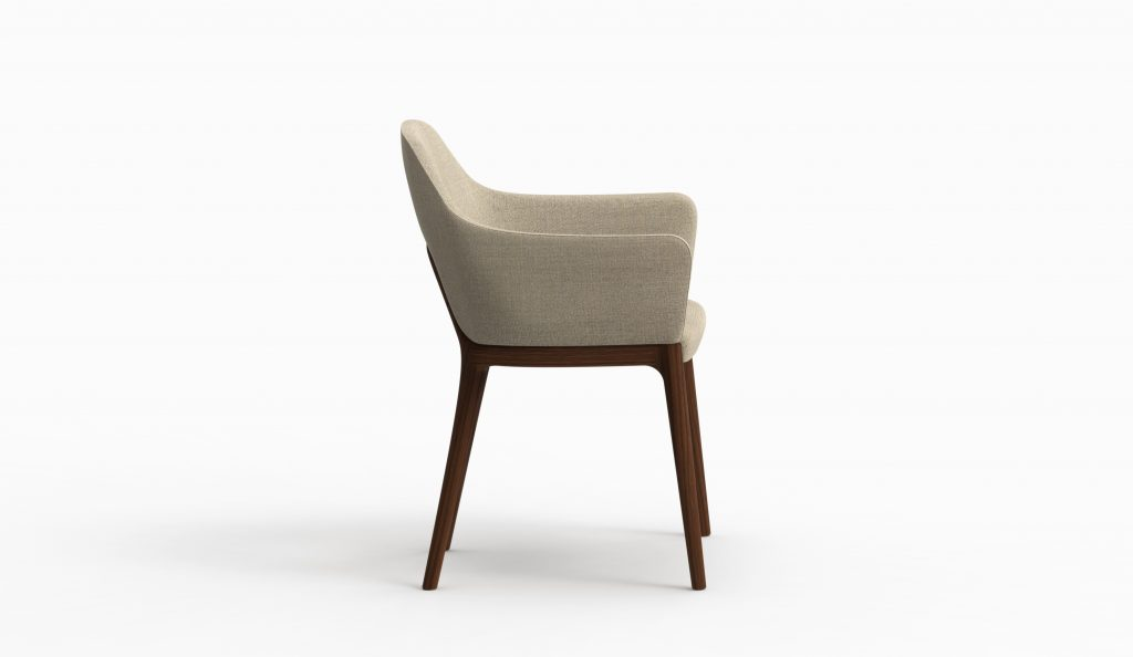 Thelos - Decó chair - Walnut - Class Nature 161 axo lat