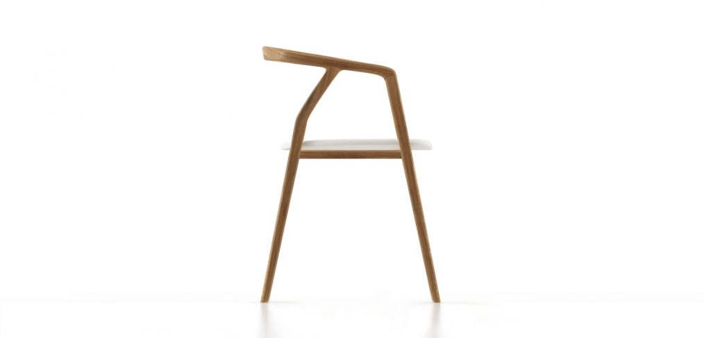 Thelos - Olea chair (Walnut wood - Design Nature 231)