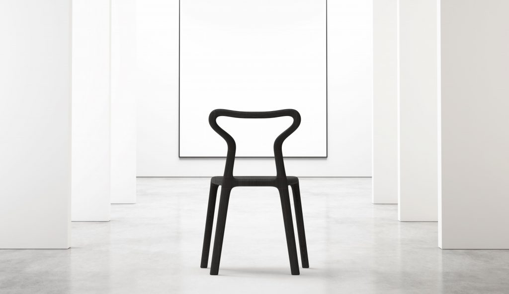 Thelos - Wasabi chair (Ash st. Black) rear Interior