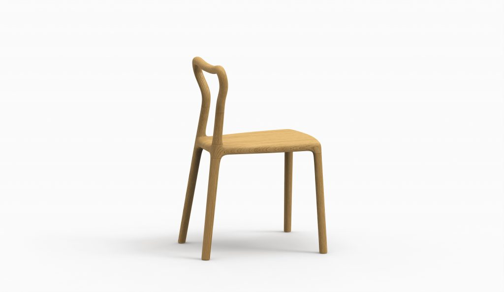 Thelos - Wasabi chair (Ash st. Oak) lat